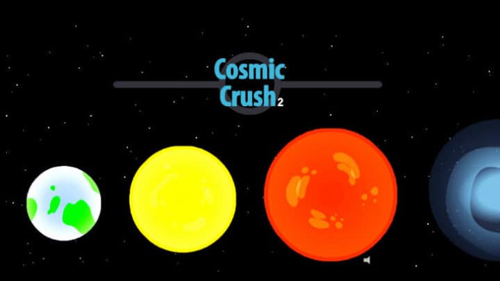 Cosmic Crush game
