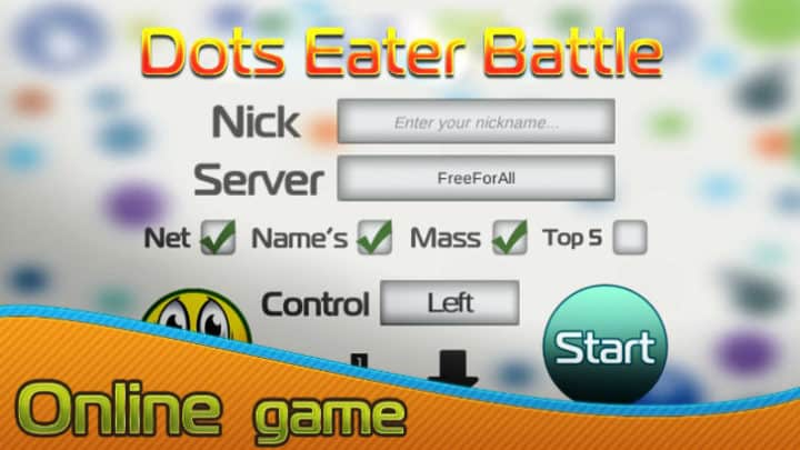 Dots Eater Battle Online