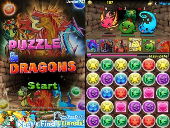 Puzzle and Dragons Game