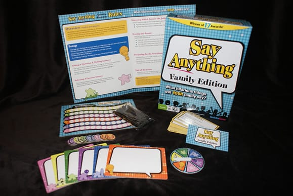 Say Anything card game