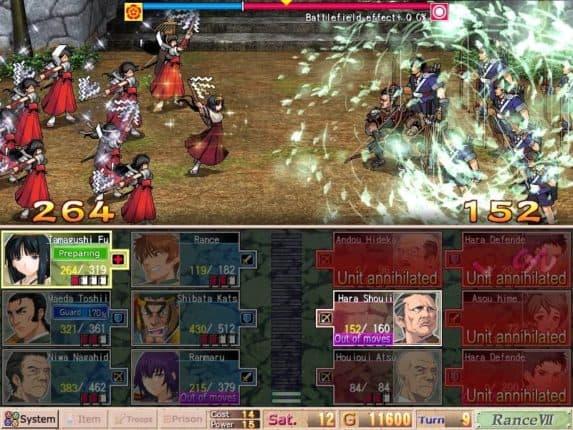 Sengoku Rance game