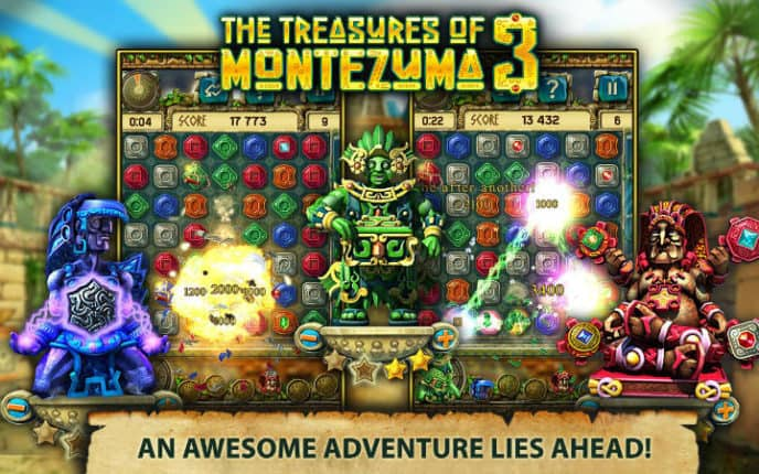 The Treasures of Montezuma game