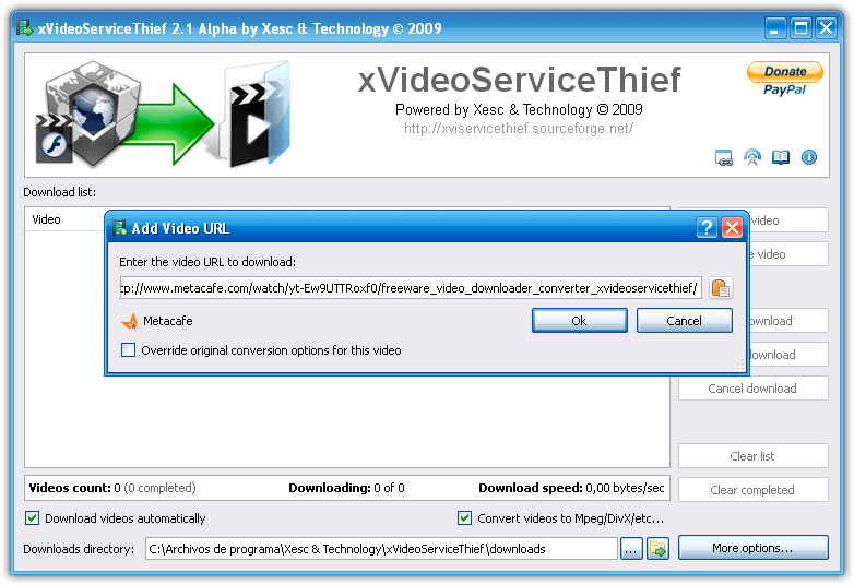 xVideoServiceThief Wikipedia Plugins (July 2018) Review