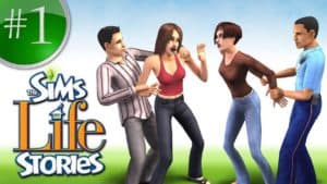 The Sims- Life Stories game