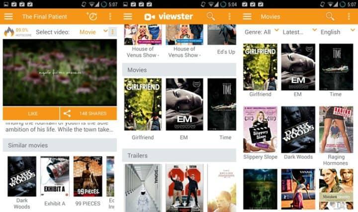 Viewster-app