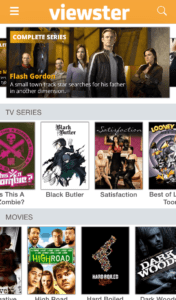 viewster movie app