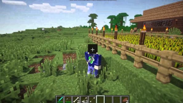 Minecraft interface mod optifine