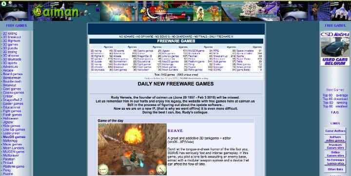 Caiman free games