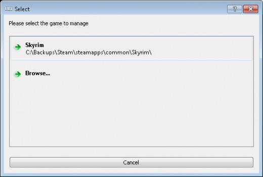 Installing Mod Organizer