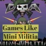 15 Games Like Mini Militia (2018)