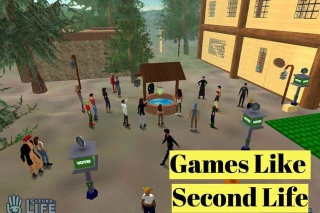 15 Games Like Second Life (September 2019) - LyncConf