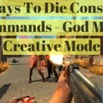 7 Days To Die Console Commands & Cheats – Complete Guide