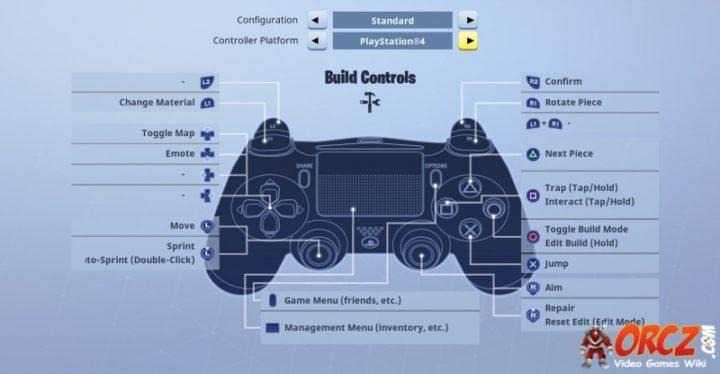 Standard Build Controls