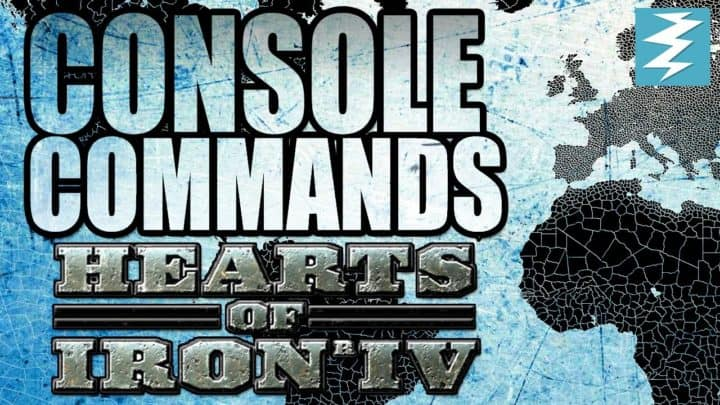 Hearts of Iron 4 - Hoi4 Console Commands, Cheats