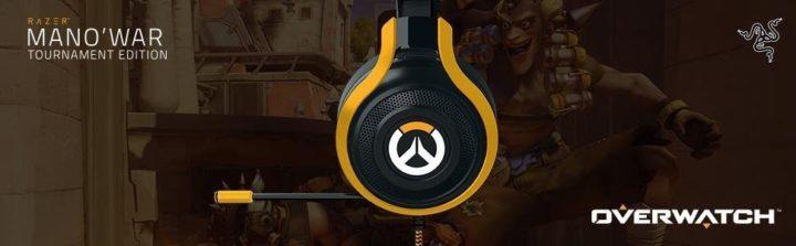 Razer Overwatch ManOWar Tournament Edition Gaming Headset