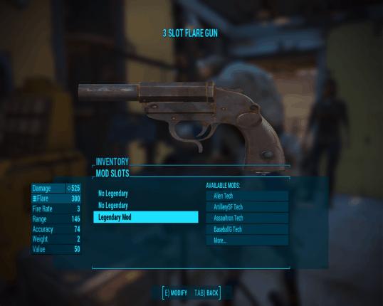 Fallout 4 legendary mods