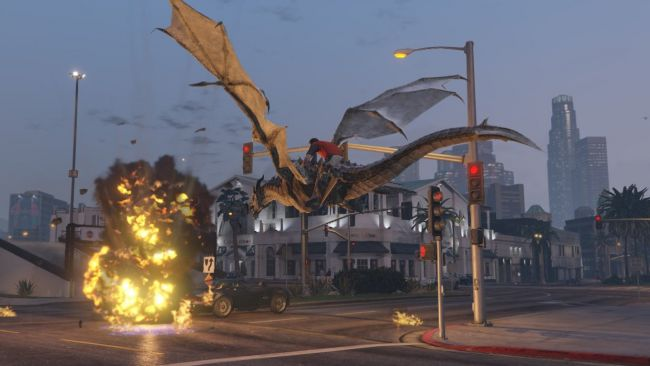 GTA V dragons V
