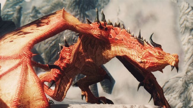 best skyrim mods - Diverse Dragons Collection