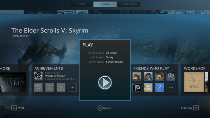 DS4 with Steam