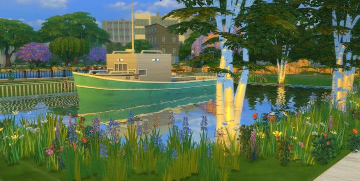 Houseboat Sims 4 Mod