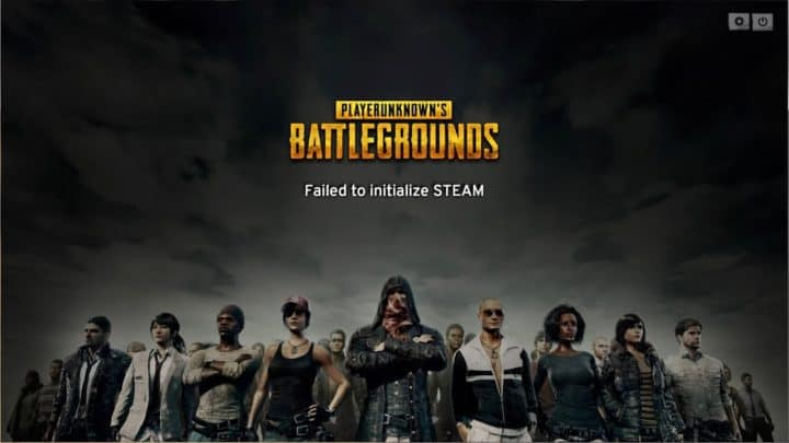 PUBG Failed To Initialize Steam