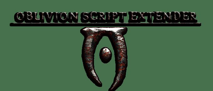 Script Extender – OBSE