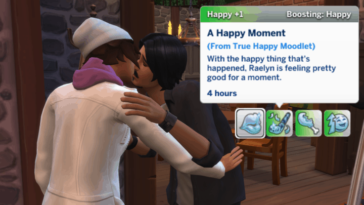 True Happiness - best sims 4 mods