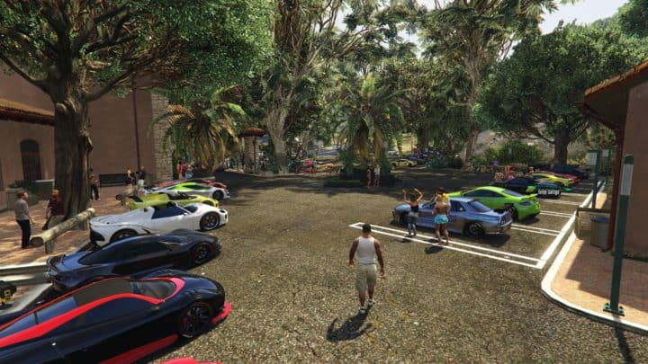 GTA V luxury pad