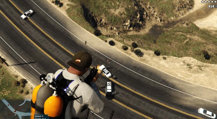 GTA V jet pack