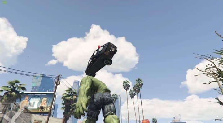 GTA V hulk