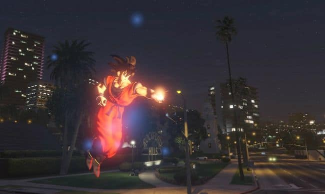 GTA V dragon ball