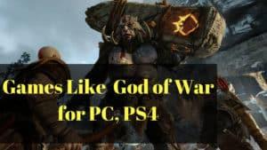 Games Like God of War
