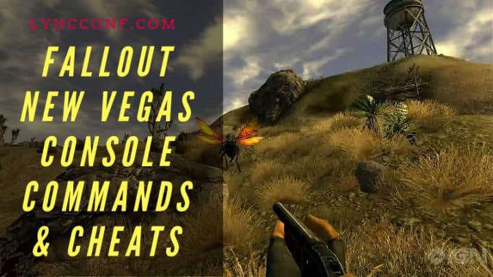Fallout New Vegas Console Commands