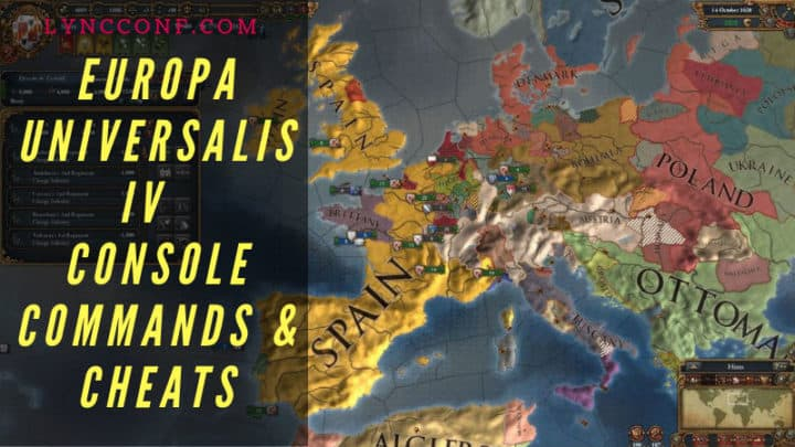 Europa Universalis IV Console Commands