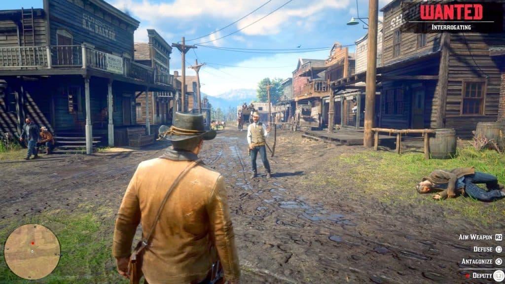 Red Dead Redemption 2 Newspaper