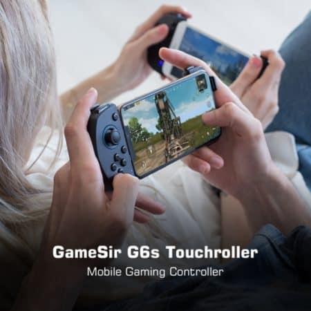 mobile gaming touchroller