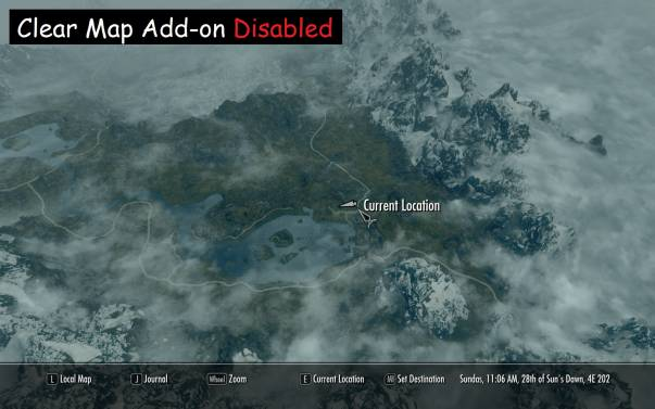 Quality World Map - elder scrolls skyrim