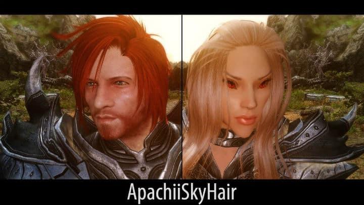 ApachiiSkyHair - elder scrolls skyrim