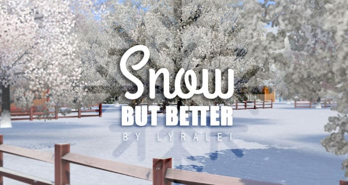 Snow but better! - Snow Replacement Mod