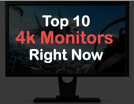 top 10 4k gaming monitors