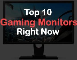 top 10 gaming monitors