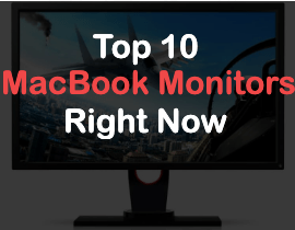 top 10 monitors for macbook