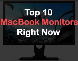 top 10 monitors for macbook