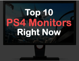 top 10 gaming monitors for ps4