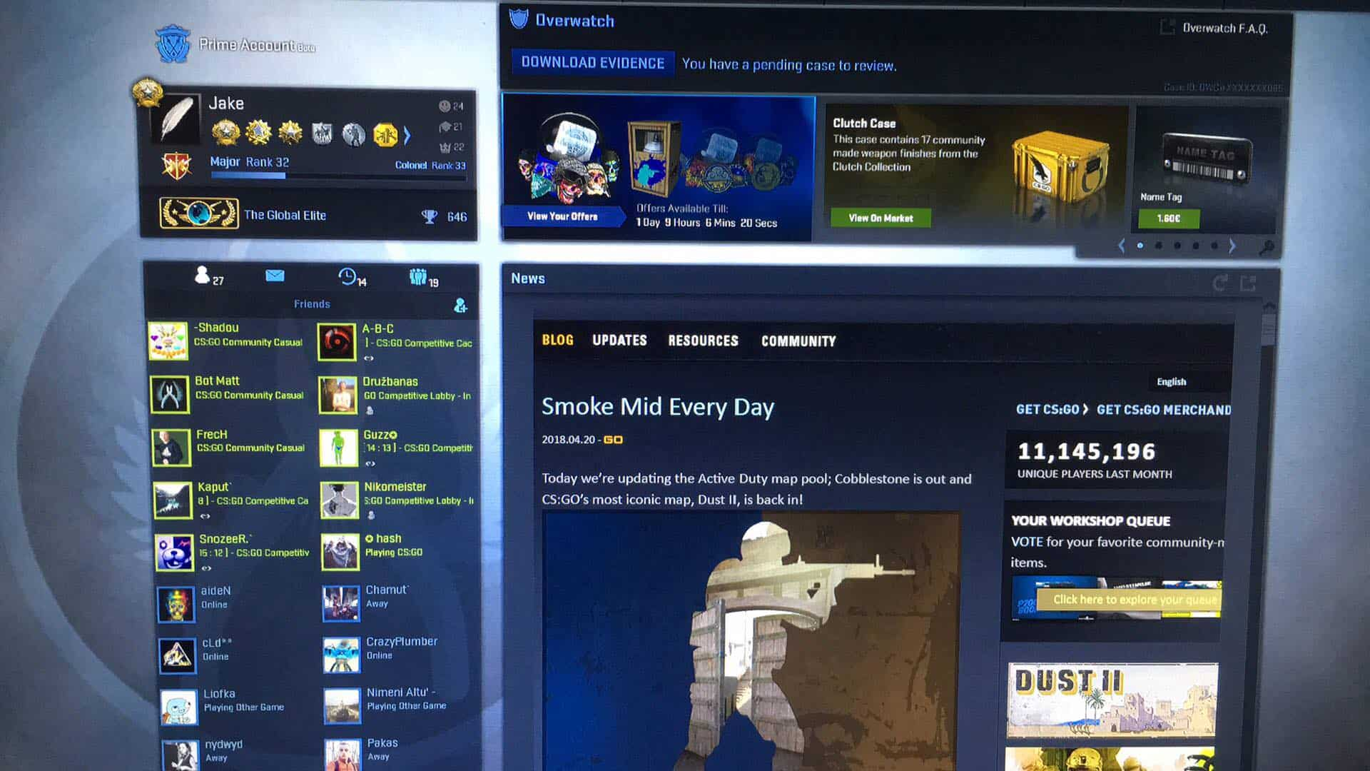Buying and Selling A CS:GO Account